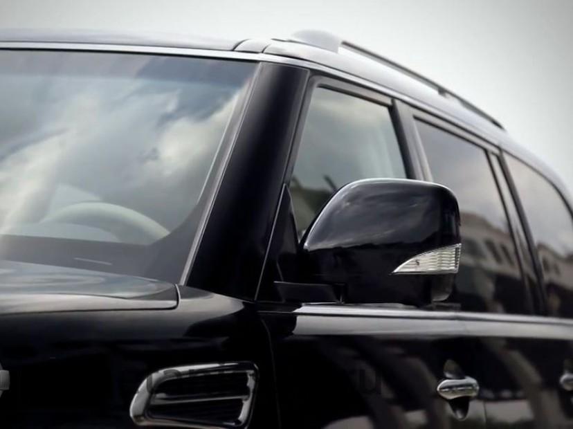 обновленный ниссан патрол 2014 фото левого зеркала