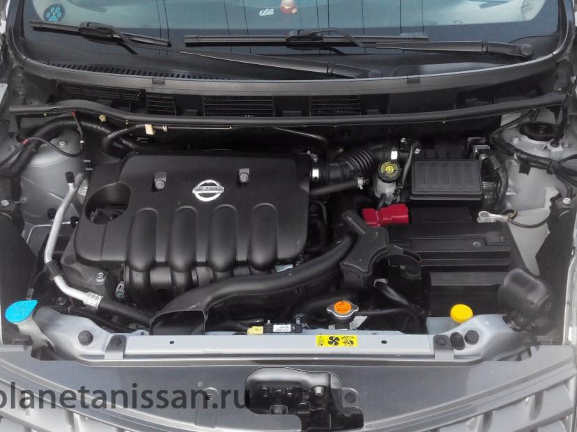 nissan note фото двигателя