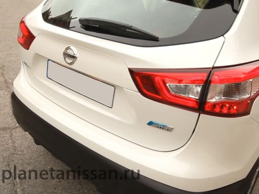 дверь багажника новый nissan qashqai