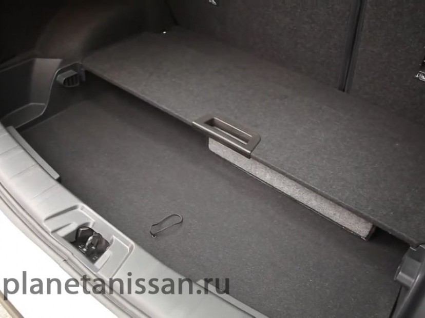новый nissan qashqai салон фото багажника изнутри