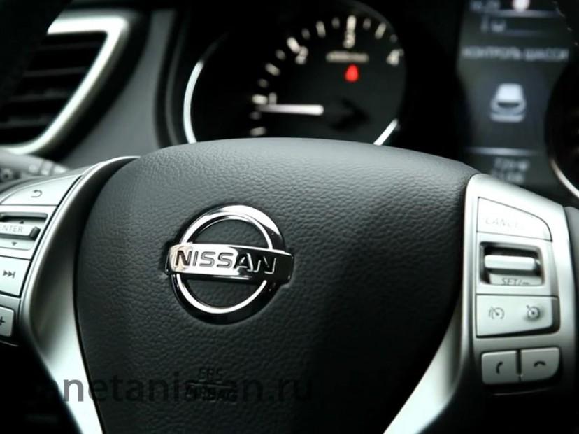 nissan qashqai руль