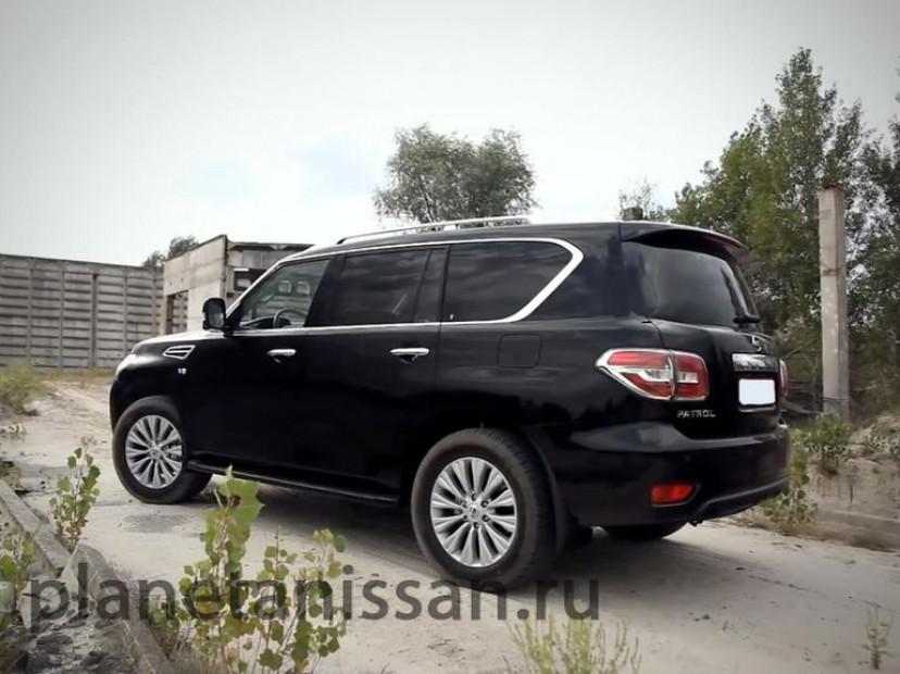 nissan patrol 2014 фото сбоку автомобиля