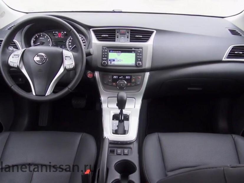 nissan sentra 2014 фото салона машины