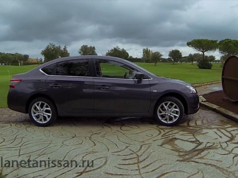 nissan sentra 2014 фото сбоку автомобиля