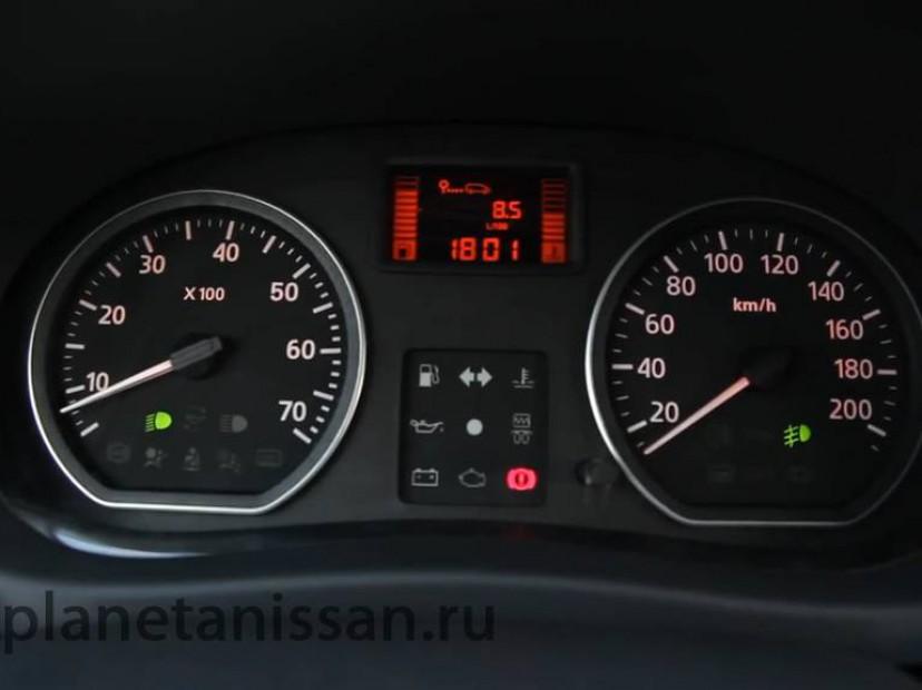 Панель приборов водителя