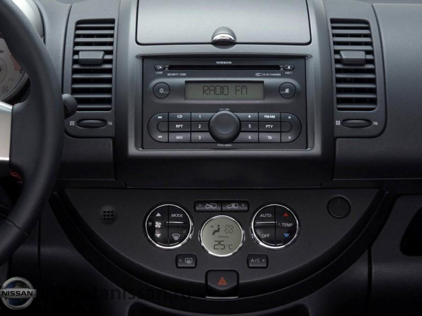 Центральная консоль Nissan Note